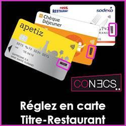 carte de paiement Conecs