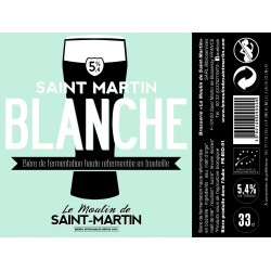 Saint Martin Blanche 5.4°...